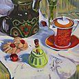 Red Tea Cup 4