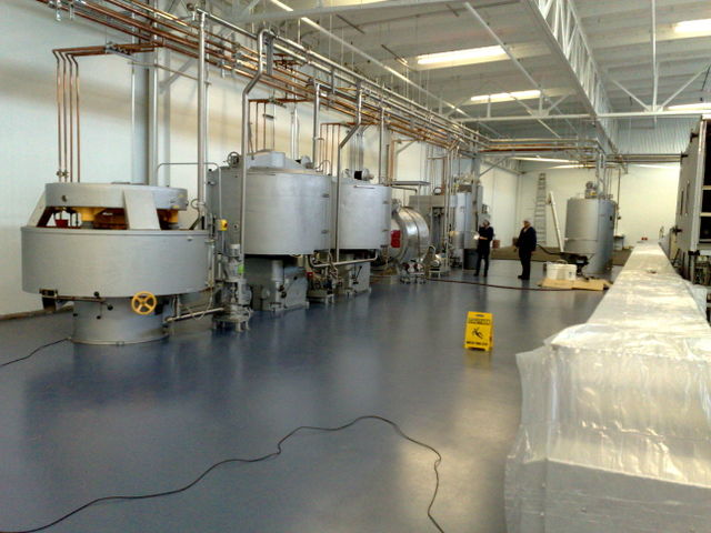TCHO - Production Line