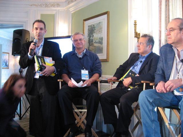Scott Kirsner, John Landry, Joe Caruso,Bill Warner
