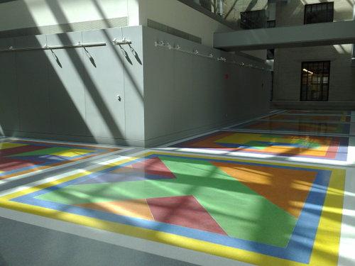 Sol LeWitt - floor