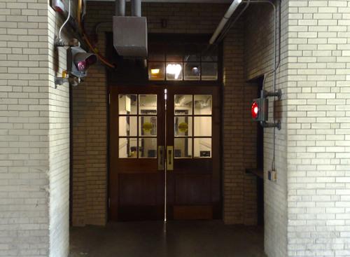 Passage between buildings 3 & 7