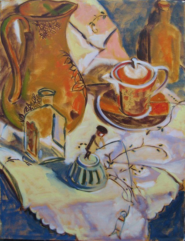 Red Tea Cup 1