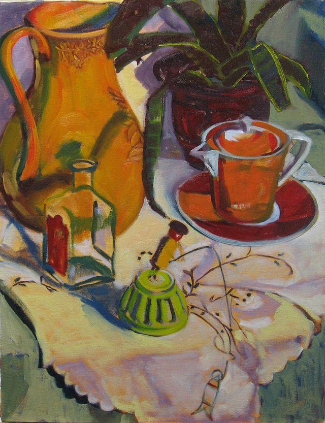 Red Tea Cup 2