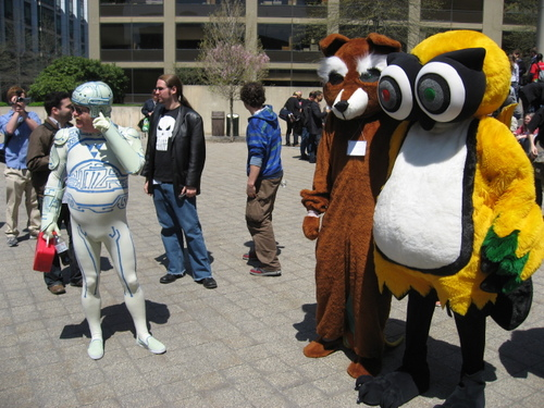 ROFLCon Mascots
