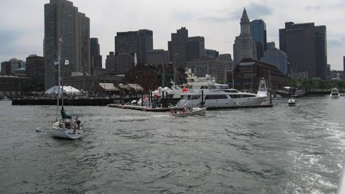 Long Wharf Departure